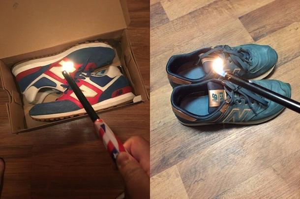 Dlaczego Amerykanie palą buty New Balance?