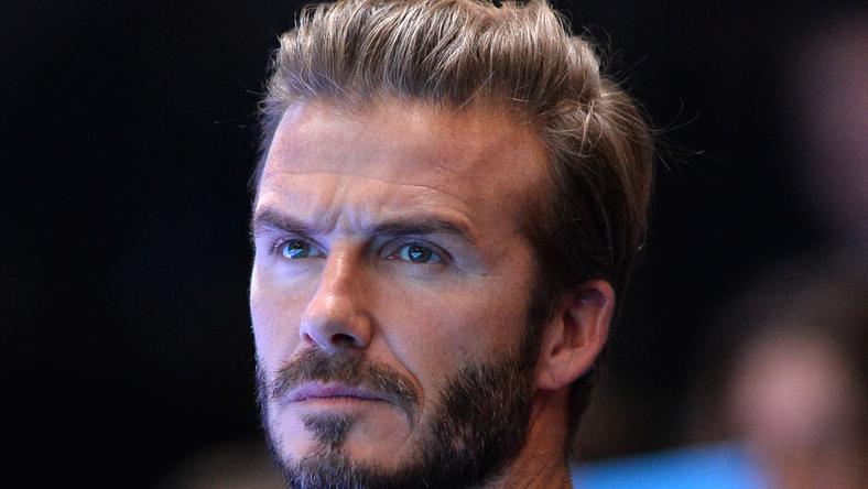 Beckham jól szórakozott /Fotó: AFP