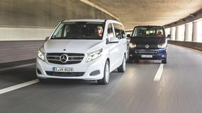 Mercedes klasy V kontra VW T5 Multivan