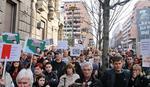 """Protest građana koji su uzeli kredite u """"švajcarcima"""""""