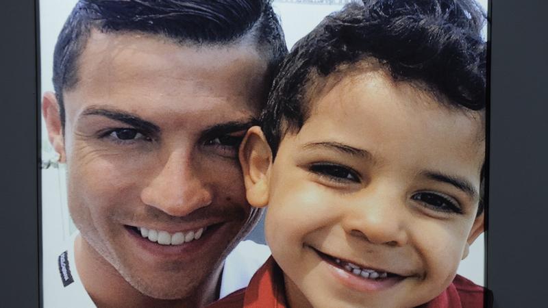 Cristiano Ronaldo Z Synem