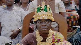 Afrykański król z Ghany, mieszkający w Niemczech, okradziony z królewskich insygniów