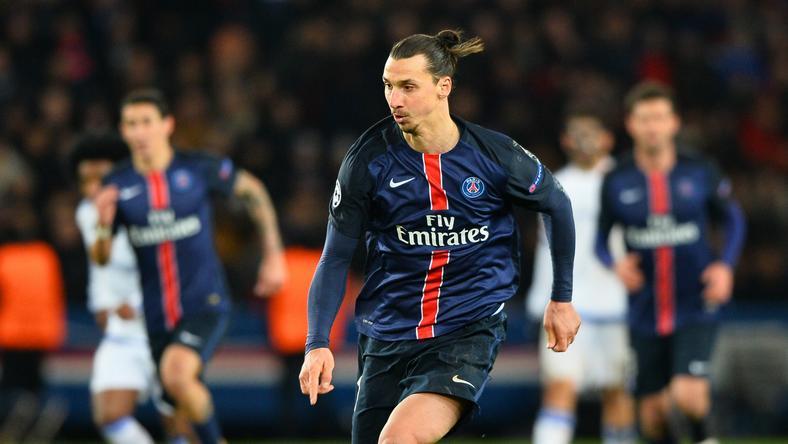 Ibrahimovic két mezzel is gazdagította a gyűjteményét /Fotó: AFP