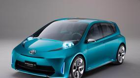Toyota Prius c Concept – Hybrydowa rodzina się powiększa