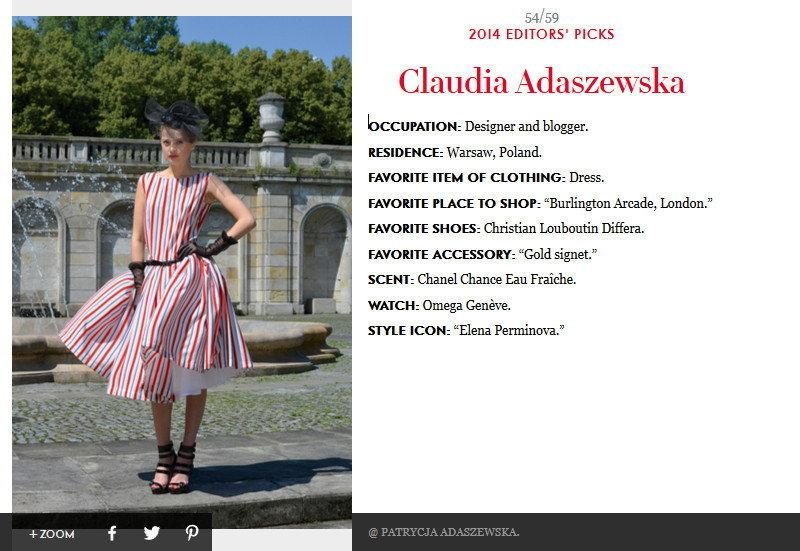 Vanity Fair / Splendor by Claudia - fot: Patrycja Adaszewska