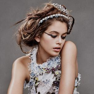 Kaia Gerber w sesji dla Teen Vogue