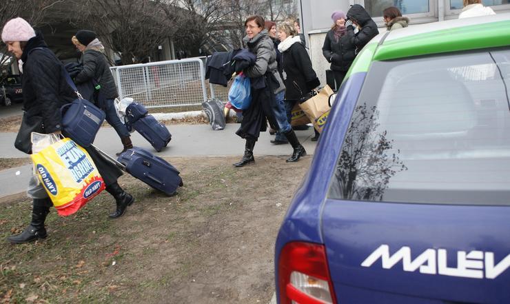A Malév embereinek egy része más légitársaságoknál helyezkedett el / Fotó: RAS ARCHIV