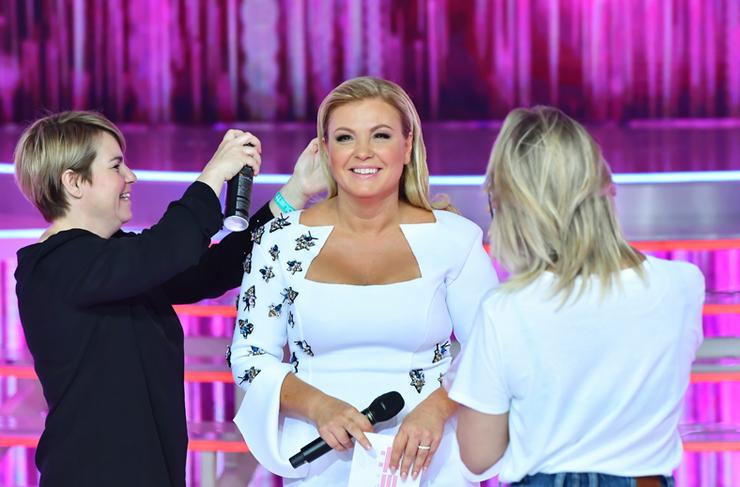 Clau frizurája egy csepp hajlakkot igényelt csak. Fotó: TV2