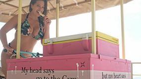 Ashley Graham na tropikalnych wakacjach