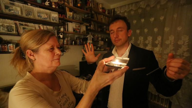 Harangozóné lakásában hat szellemet is érzett Pintér Mirkó / Fotó: Weber Zsolt