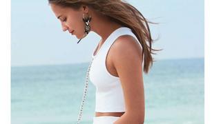 Alicia Vikander prezentuje nowe modele torebek Louis Vuitton