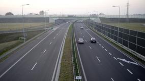 Ruch na estakadzie autostrady A4 koło Dębicy bez utrudnień