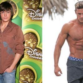 Zac Efron: od gwiazdki Disneya po górę mięśni
