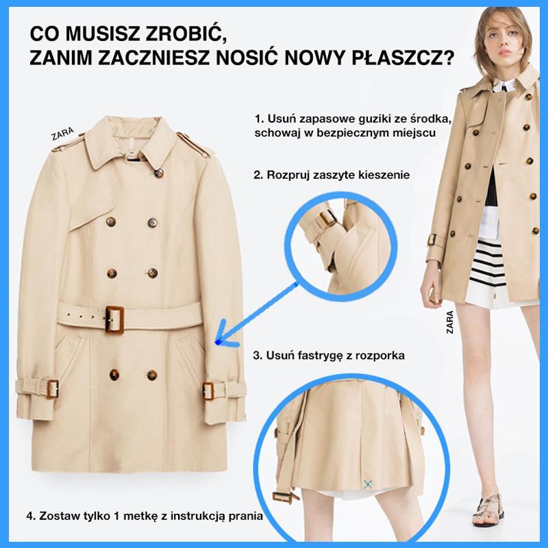 Instrukcja obsługi nowego płaszcza