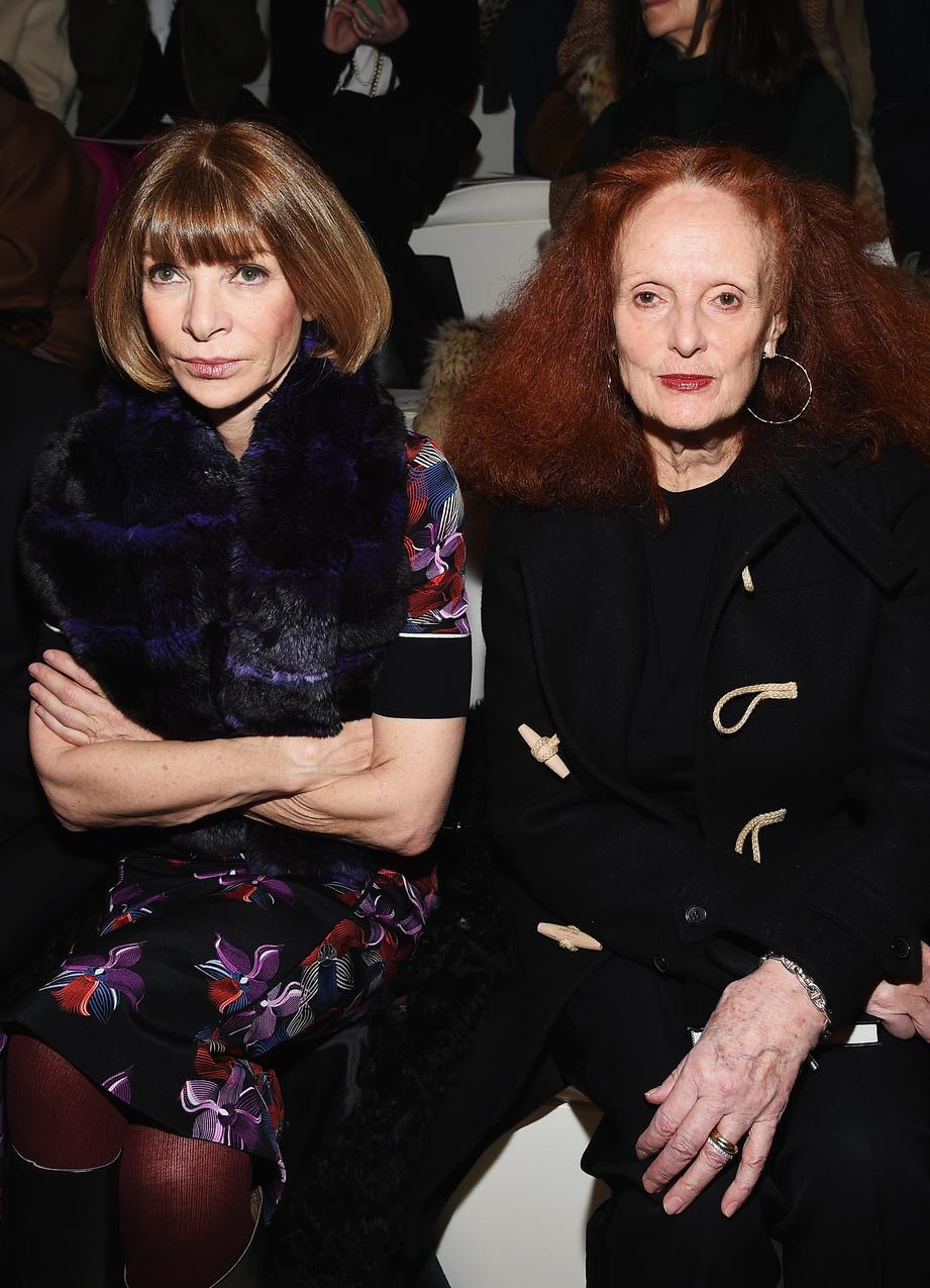 Grace Coddington i Anna Wintour