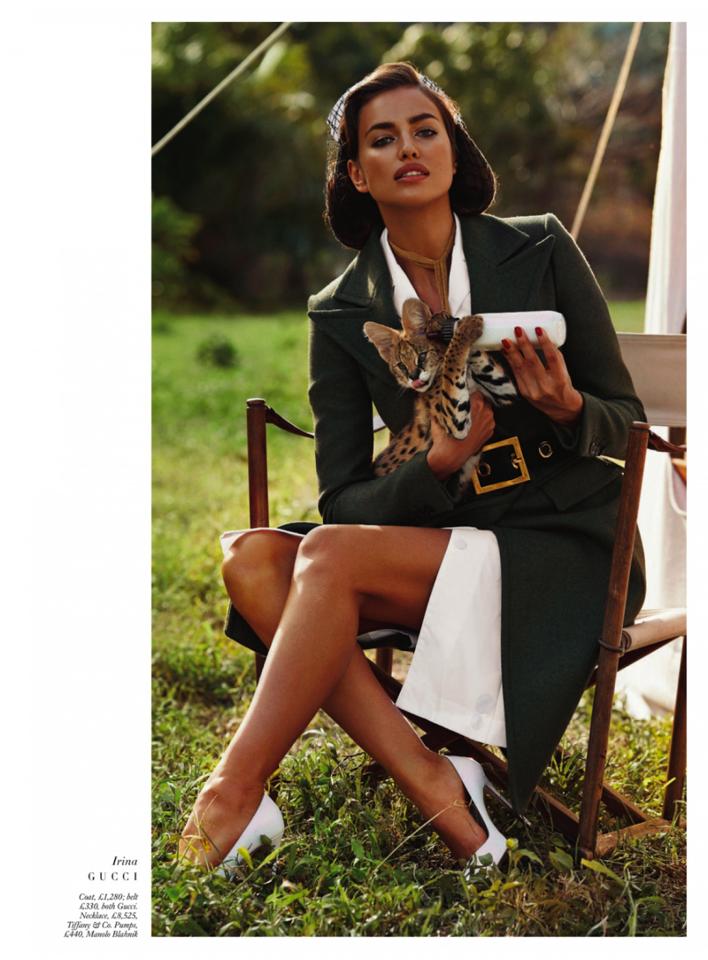 Dzika Afera z Harper's Bazaar