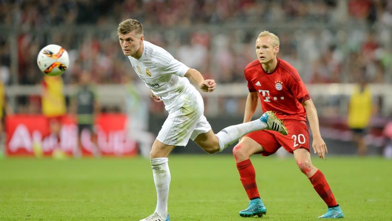 Legutóbb nyáron játszott egymással a Real és a Bayern: most a háttérben csatáznak / Fotó: AFP