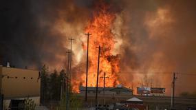 Gigantyczny pożar w Kanadzie. Ewakuowano 80 tysięcy osób