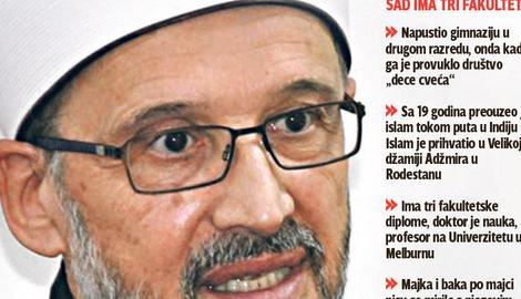 TETKA RUŽICA ME PODRŽAVALA Sve o Abdulahu Numanu, novom muftiji srbijanskom