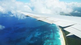 Pasażerowi samolotu udało się sfotografować UFO?