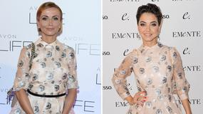 Kasia Zielińska i Paulina Drażba w takiej samej sukience. Która wygląda lepiej?