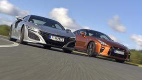 Honda NSX kontra Nissan GT-R - Mocniejsza od Godzilli