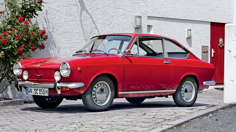 fiat 850 sport coupe odrobina dolce vita klasyki. Black Bedroom Furniture Sets. Home Design Ideas