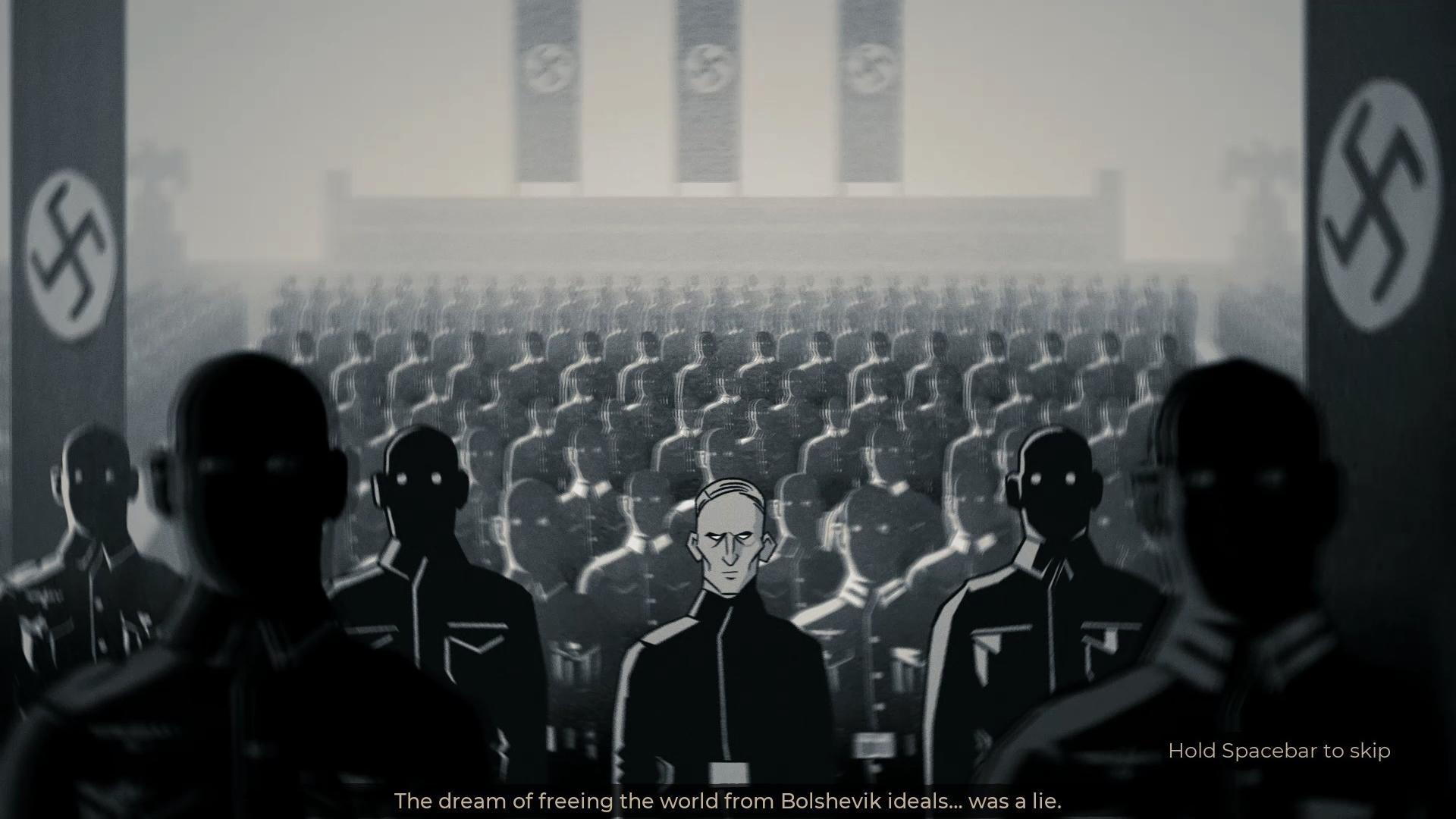 Temný príbeh je sprevádzaný príhodnými a pútavými animovanými sekvenciami.