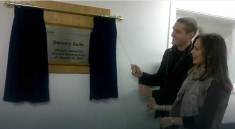 Nemanja i Ana Vidić otvaraju porodilište u Mančesteru