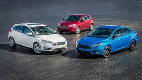 Ford Focus sedan przeszedł face lifting