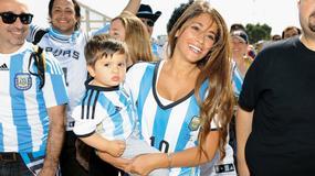 Piękna partnerka Lionela Messiego z synkiem