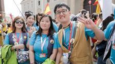 Radosne tłumy pielgrzymów na Ostrowie Tumskim