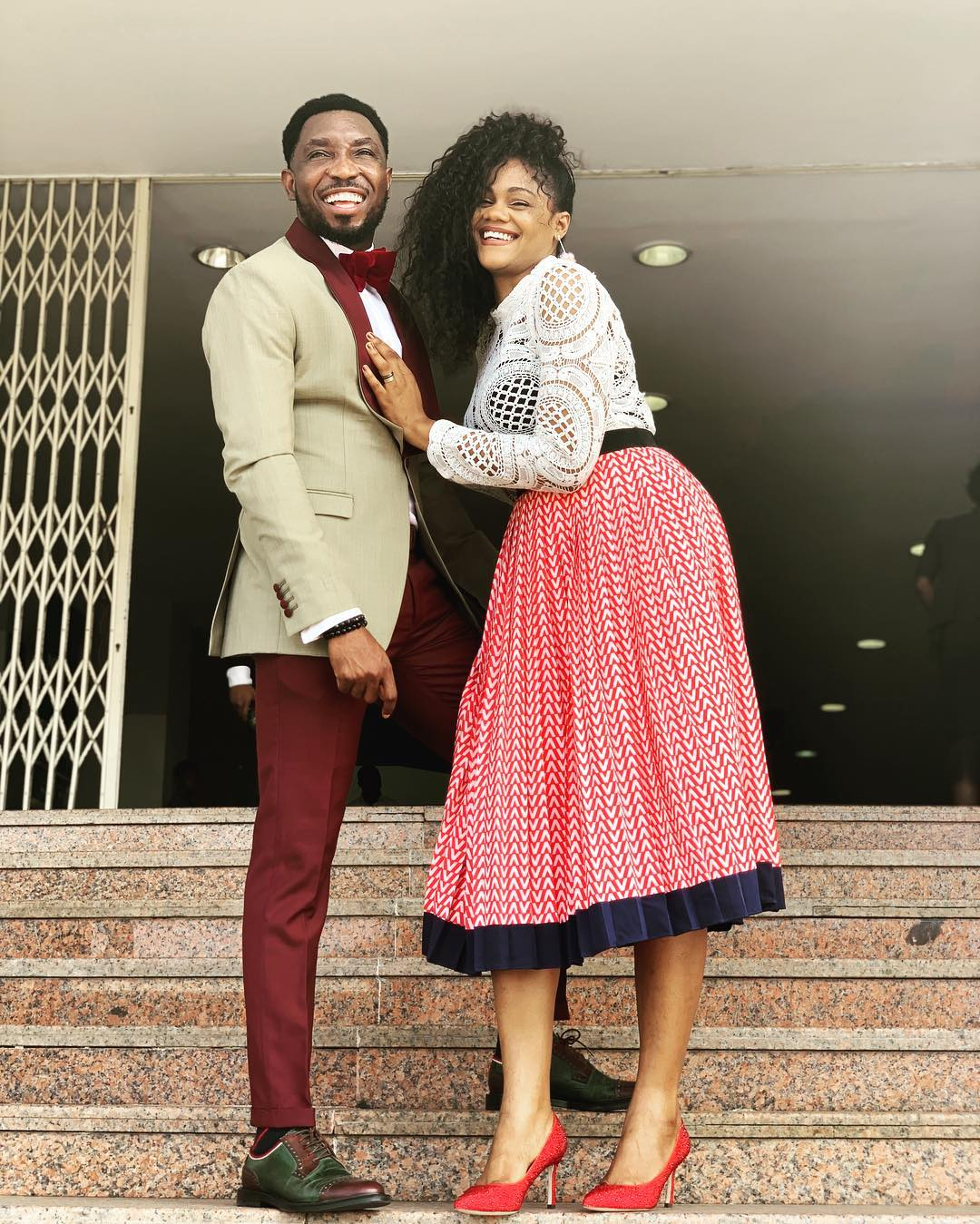 Prior to Timi's comments, his wife had also come out to debunk the news that she demanded N10M from Pastor Biodun Fatoyinbo. [Instagram/TimiDakolo]