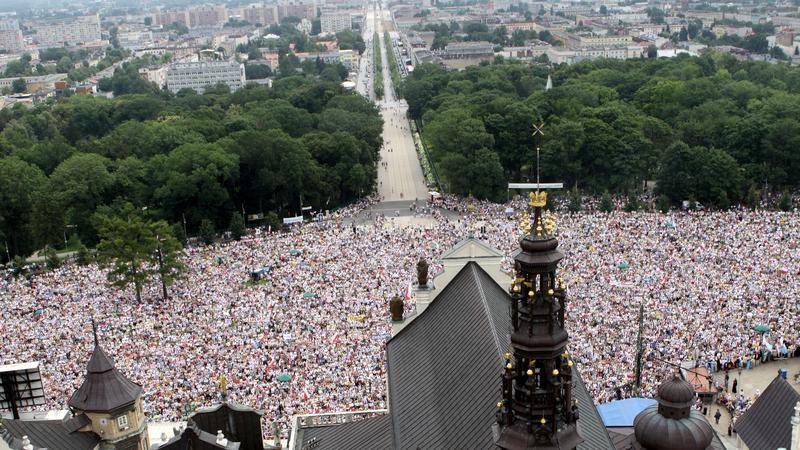 Główne uroczystości 20. Pielgrzymki Rodziny Radia Maryja na Jasnej Górze. Fot. PAP/Waldemar Deska
