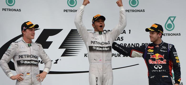 F1: Lewis Hamilton najszybszy na torze Sepang w Kuala Lumpur