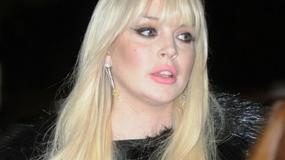 Dziwna twarz Lindsay Lohan