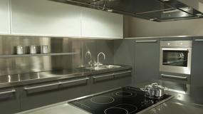 W stylu industrialnym - metalowe blaty kuchenne