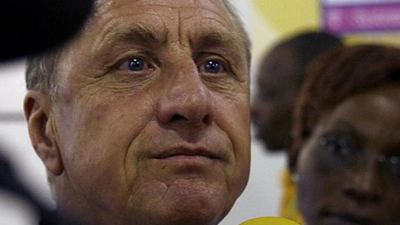 Cruyff szerint nyerésre áll a rák elleni küzdelemben /Fotó: AFP