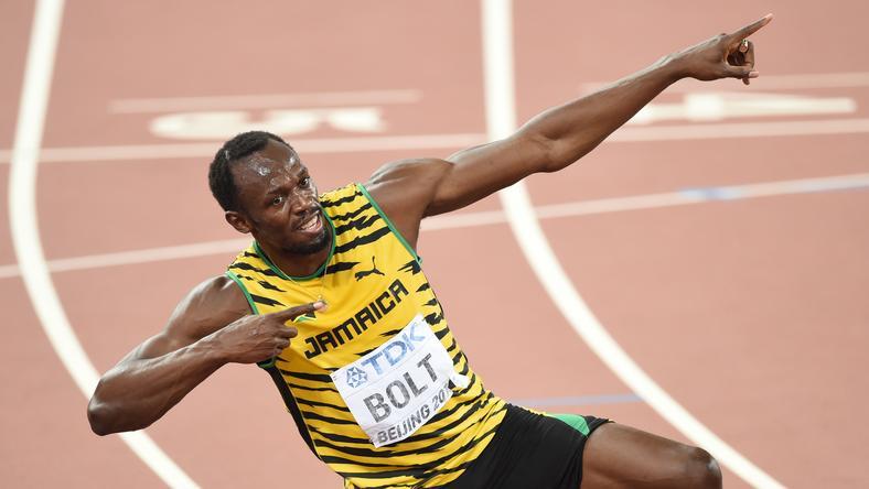 Usain Boltot meglepte édesanyja /Fotó: AFP