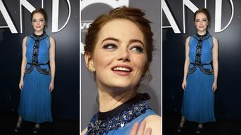 Emma Stone w sukience Prada