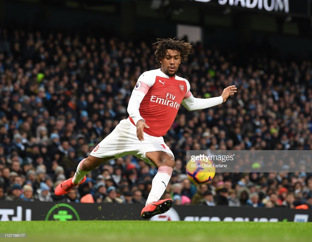 Alex Iwobi has been given more game time this season by Unai Emery (Stuart MacFarlane/Arsenal FC via Getty Images)