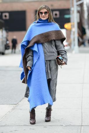 Must have: duży szal