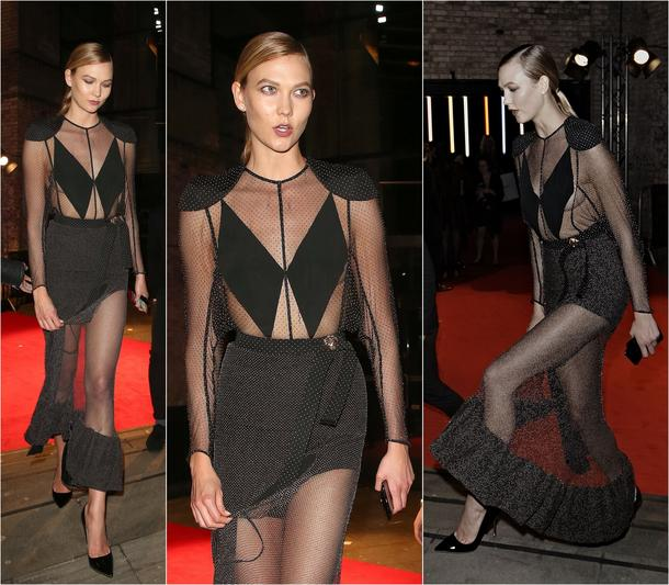 Best Look: Karlie Kloss w sukience Louis Vuitton