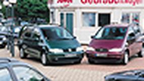 VW Sharan, Ford Galaxy, Seat Alhambra - Z jednej taśmy
