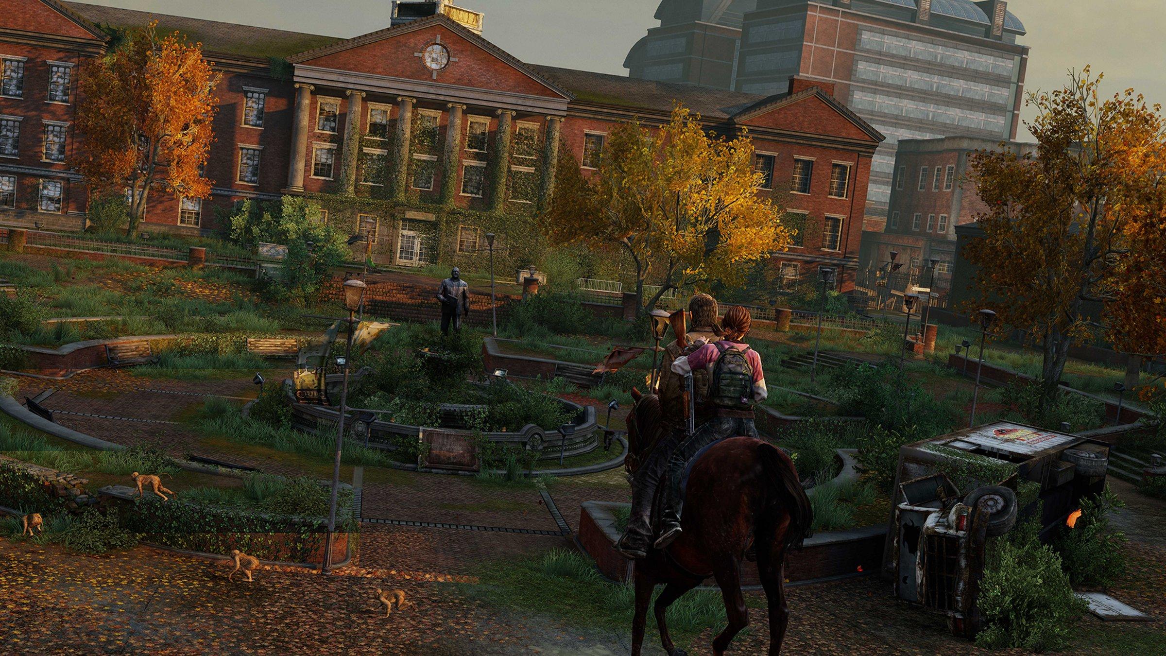 Príbeh The Last of Us sleduje ostrieľaného preživšieho Joela a mladú dievčinu Ellie.