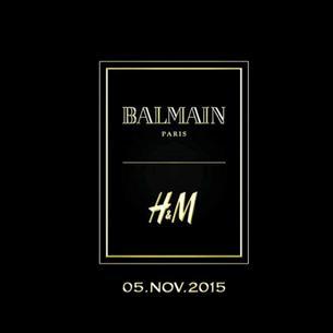 H&M x Balmain - zobacz pierwsze projekty z kolekcji!