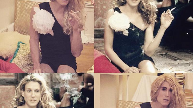 Nowojorczyk odtwarza stylizacje Carrie