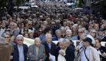 Protest grčkih penzionera: Ne možemo živeti s 300 evra