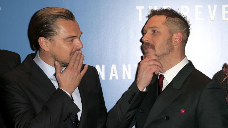 Leonardo DiCaprio és Tom Hardy A visszatérő premierjén: vajon megnyerjük az Oscart? /Fotó: Northfoto