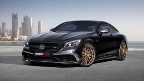 Mercedes S63 Coupe Brabus - ciemna strona mocy